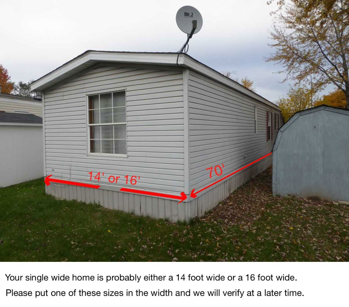 Mobile Home Dimensions