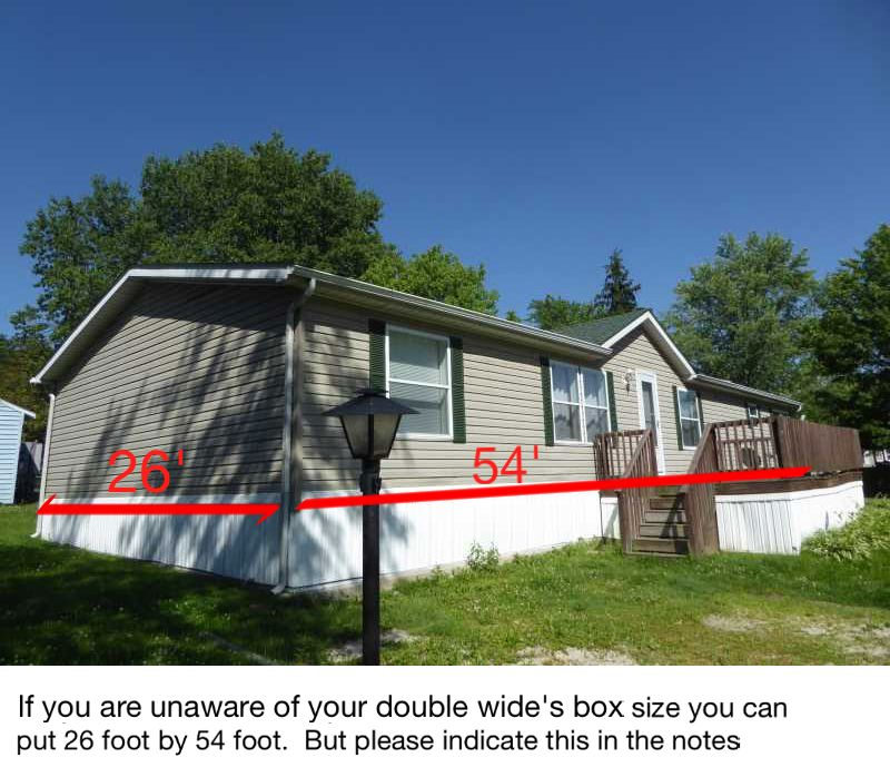 manufactured home measurements