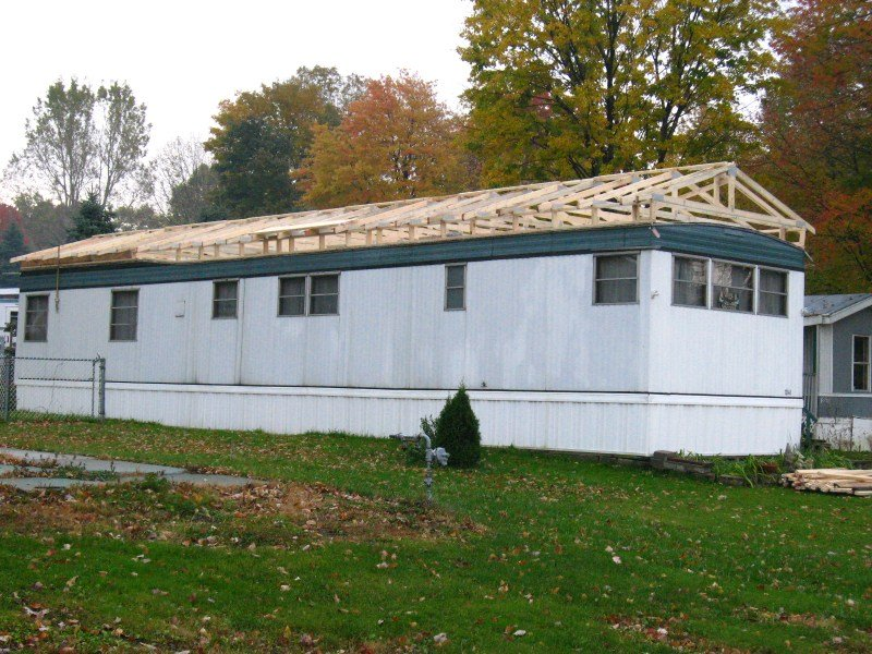 Mobile home roof overs a quick guide to this great home Mobile home addition kits