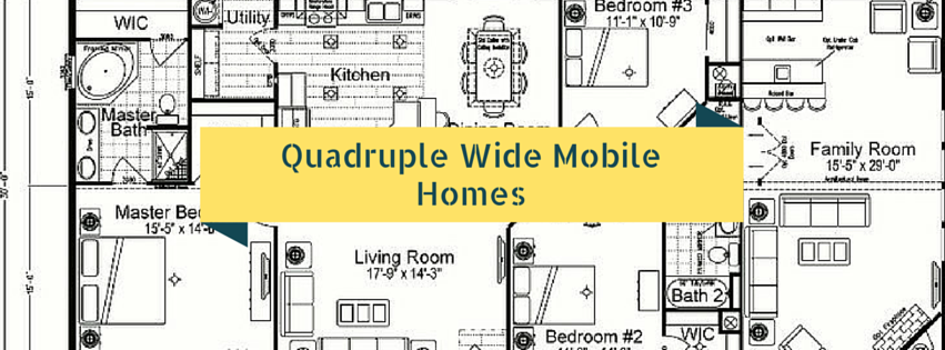 the benefits of quadruple wide mobile homes a quick