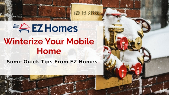 Quick Tips On Winterizing Your Mobile Home