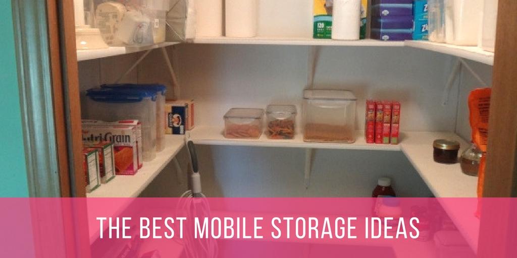 Mobile Home Storage Idea Post