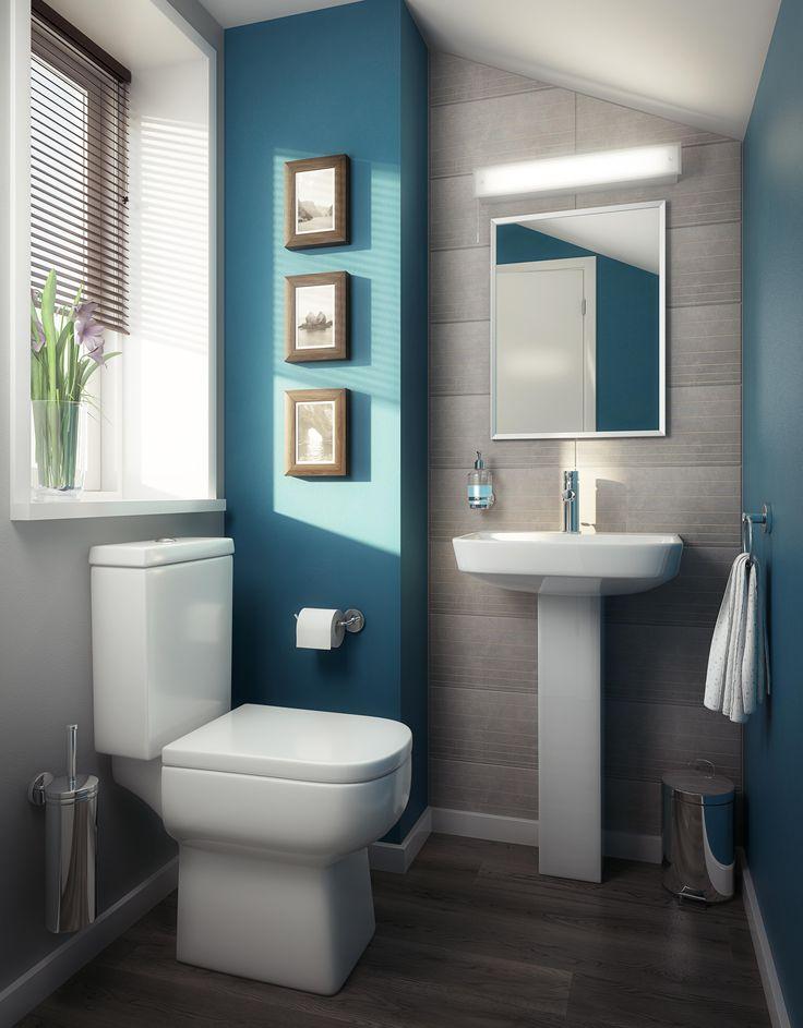 blue bathroom - US Mobile Home Pros