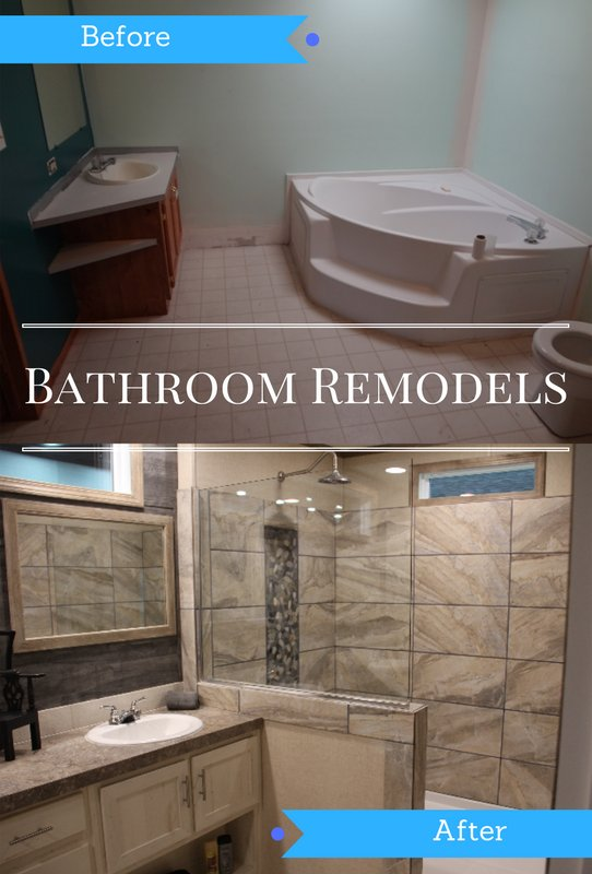 Remodel Mobile Home Bathroom