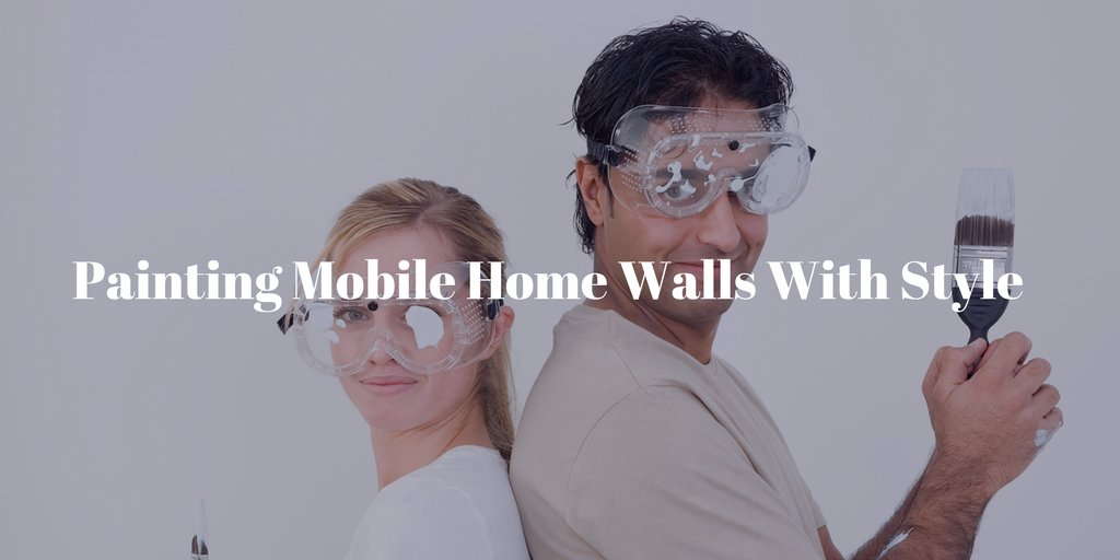 Painting mobile home walls with style our ultimate guide for Painting mobile home walls
