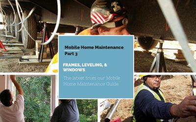 Mobile Home Maintenance Part 3 | Leveling, Frames, And Windows