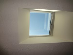 Mobile home skylight
