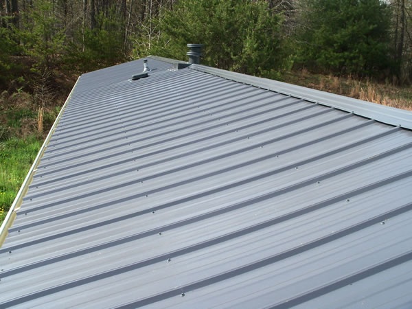 metal roofs on mobile homes