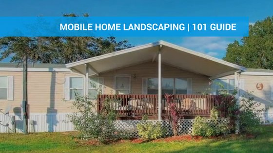 Mobile Home Landscaping Featured