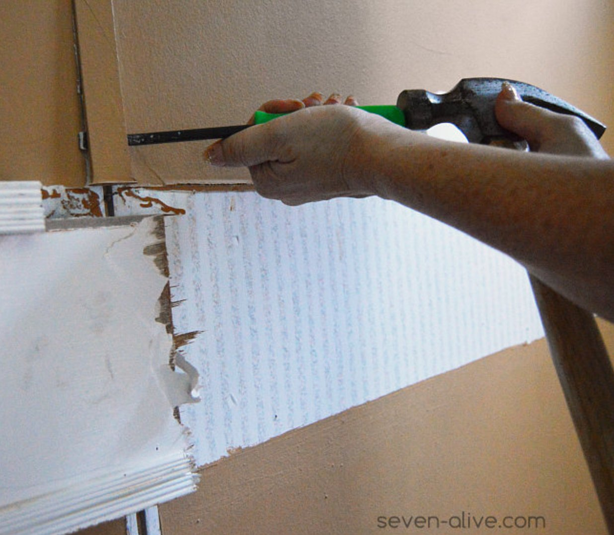 What are mobile home wall strips and how to remove them Mobile home interior wall paneling