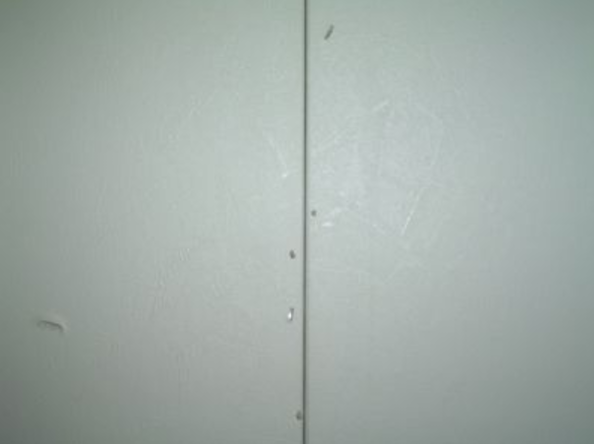 mobile home wall seam