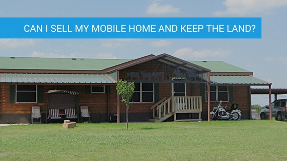 how to set up a mobile home on land