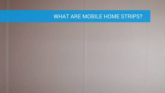 What Are Mobile Home Wall Strips And How To Remove Them ... Redoing Paneling In Old Mobile Home on