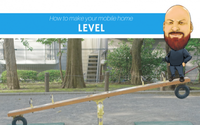 How to Make Your Mobile Home Level