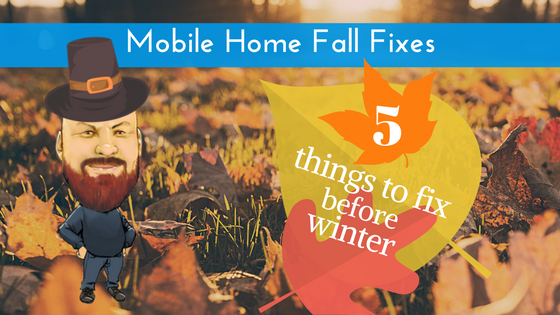 Mobile Home Fall Fixes Feature Image