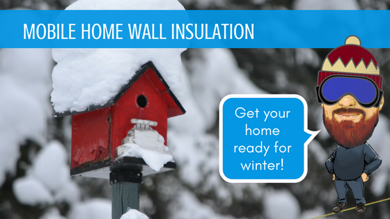 Mobile Home Wall Insulation Feature Image