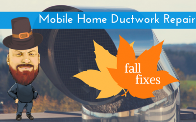 Mobile Home Ductwork Repair: Keep Your Home Warm This Winter