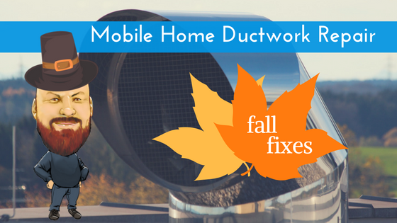 Mobile Home Ductwork Repair Featured Image
