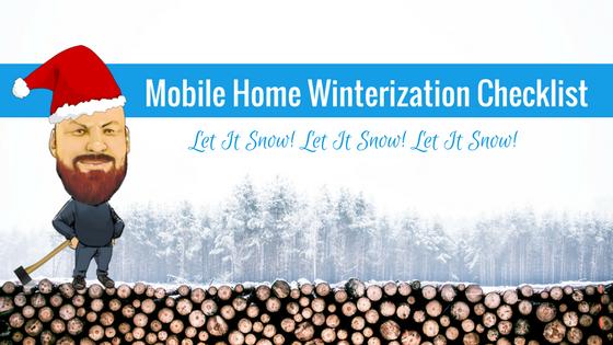 Mobile Home Winterization Checklist Feature Image