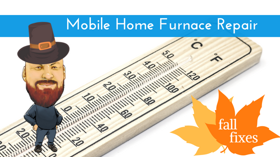 Mobile Home Furnace Repair Feature Image
