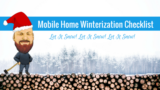 Mobile Home Winterization Checklist Feature Image