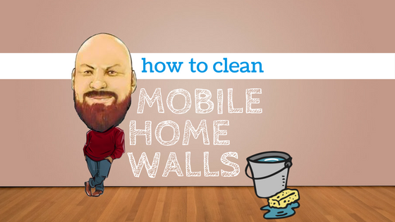How to clean mobile home walls - Featured image