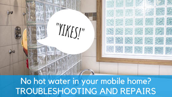 No Hot Water In Your Mobile Home - Featured Image