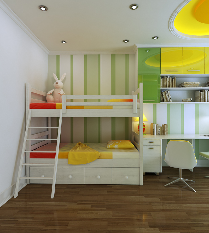 Colorful Kids Rooms: A Gallery Of Inspiring Designs And
