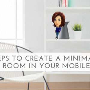 5 Steps To Create A Minimalist Living Room In Your Mobile Home