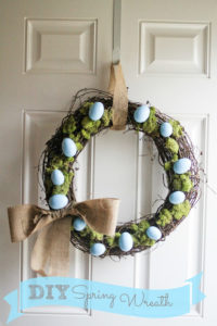 Spring Wreath by I Love You More Than Carrots