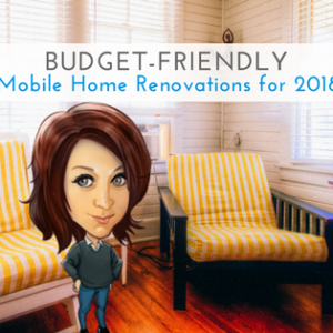 Budget-Friendly Mobile Home Renovations For 2018 | Tips & Ideas