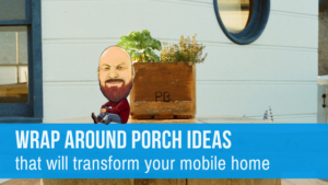 "Featured image for ""Wrap Around Porch Ideas That Will Transform Your Mobile Home"" blog post"