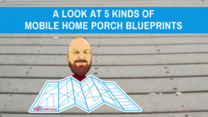 "Featured image for ""A Look At 5 Kinds Of Mobile Home Porch Blueprints"" blog post"