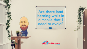 "Featured image for ""Are There Load Bearing Walls In A Mobile Home That I Need To Avoid?"" blog post"