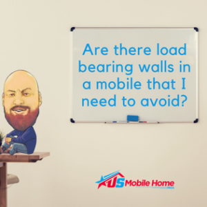 Are There Load Bearing Walls In A Mobile Home That I Need To Avoid?