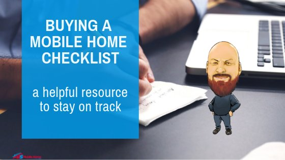 "Featured image for ""Buying A Mobile Home Checklist - A Helpful Resource To Stay On Track"" blog post"