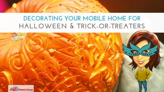 "Featured image for ""Decorating Your Mobile Home For Halloween & Trick-Or-Treaters"" blog post"