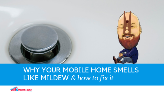 "Featured image for ""Why Your Mobile Home Smells Like Mildew & How To Fix It"" blog post"