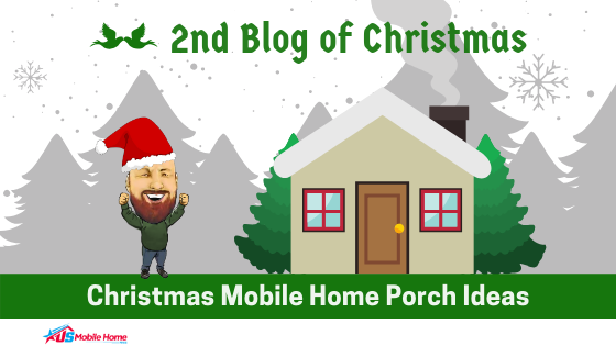 2nd Blog Of Christmas: Christmas Mobile Home Porch Ideas