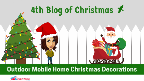 "Featured image for ""4th Blog Of Christmas: Outdoor Mobile Home Christmas Decorations"" blog post"