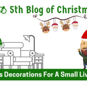 5th Blog Of Christmas: Christmas Decorations For A Small Living Room