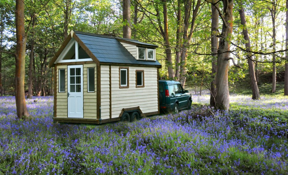 Tiny House model ideal location by Tiny House UK