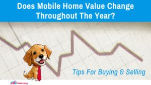 "Featured image for ""Does Mobile Home Value Change Throughout The Year? Tips For Buying & Selling"" blog post"