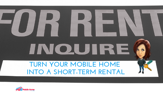 Turn Your Mobile Home Into A Short-Term Rental | Decor Tips