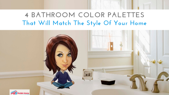 4 Bathroom Color Palettes That Will Match The Style Of Your ... on futuro bathrooms, class c motorhome bathrooms, mobile home sinks, mobile home parts, mobile home hallway, mobile home greenhouse, plastic sinks for bathrooms, teenage bathrooms, mobile home pool, mobile home living rooms, mobile home decorating, rustic bathrooms, hotel bathrooms, farmhouse bathrooms, rv bathrooms, mobile home building, mobile home house, mobile home bedrooms, mobile home tools, mobile home mirrors,