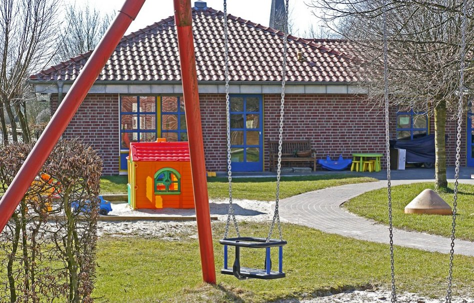 Outside view of a kindergarten