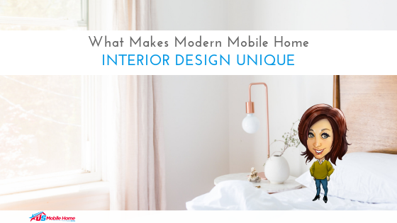 What Makes Modern Mobile Home Interior Design Unique
