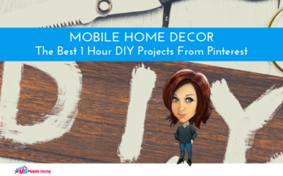 Mobile Home Decor: The Best 1 Hour DIY Projects From Pinterest