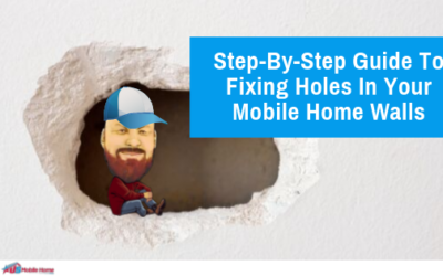 Step-By-Step Guide To Fixing Holes In Your Mobile Home Walls