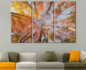 Fall canvas art
